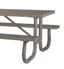 Picture for category Welded Steel Frame Aluminum Picnic Tables