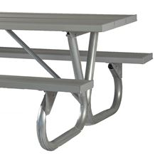Picture for category Bolted Steel Frame Aluminum Picnic Tables