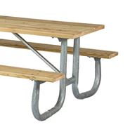 Picture for category Welded Steel Frame Wood Picnic Tables