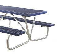 Picture for category Bolted Steel Frame Plastisol Picnic Tables