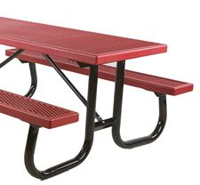 Picture for category Welded Steel Frame Plastisol Picnic Tables