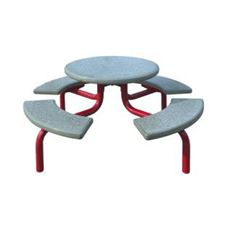 Picture for category Concrete Picnic Tables with Metal Frame