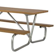 Picture for category Bolted Steel Frame Recycled Plastic Picnic Tables