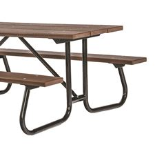 Picture for category Welded Steel Frame Recycled Plastic Picnic Tables