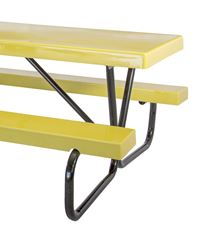 Picture for category Bolted Steel Frame Fiberglass Picnic Tables
