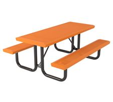 Picture for category Thermoplastic Rectangular Picnic Tables