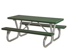 Picture for category Plastisol Rectangular Picnic Tables