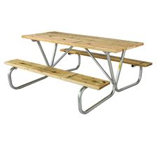 Picture for category Wood Rectangular Picnic Tables