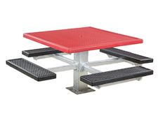 Picture for category Plastisol Square Picnic Tables