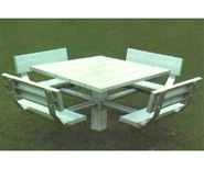 Picture for category Aluminum Square Picnic Tables