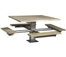 Picture for category Wood Square Picnic Tables