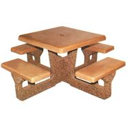 Picture for category Concrete Square Picnic Tables