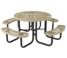 Picture for category Thermoplastic Round Picnic Tables