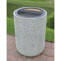 Commercial Concrete Trash Cans