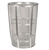 52 Gallon Steel Mesh Basket Galvanized or Powder Coated