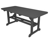 "36"" x 72"" Recycled Plastic Harvester Picnic Table"