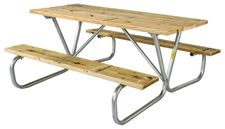 Picture for category Commercial Wooden Picnic Tables