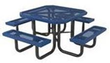 Picture for category Plastic Coated Steel Picnic Tables