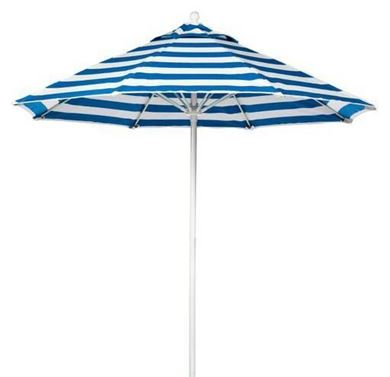 9 Ft. Fiberglass Market Umbrella with Octagonal Marine Grade Canopy
