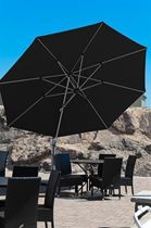 13 ft Octagonal Aluminum Cantilever Umbrella with Marine Grade Fabric