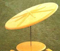 Umbrella 7 1/2 Foot Round Fiberglass Galvanized