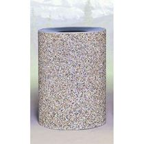 Commercial Grade Concrete Trash Cans