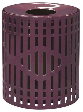 32 Gallon Diamond Trash Can Receptacle