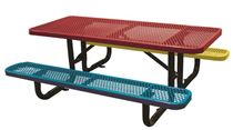 6 Ft. Children's Rectangular Thermoplastic Picnic Table