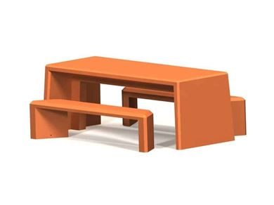 Concrete Monster Table