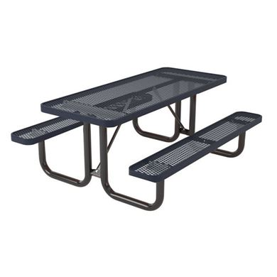 8 ft. Rectangular Thermoplastic Steel Picnic Table, Ultra Leisure Style